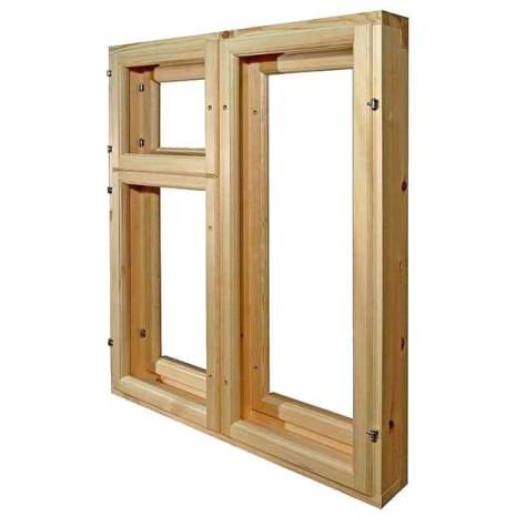 Изображение Окна деревянные